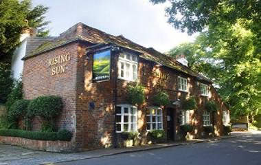 Rising pub