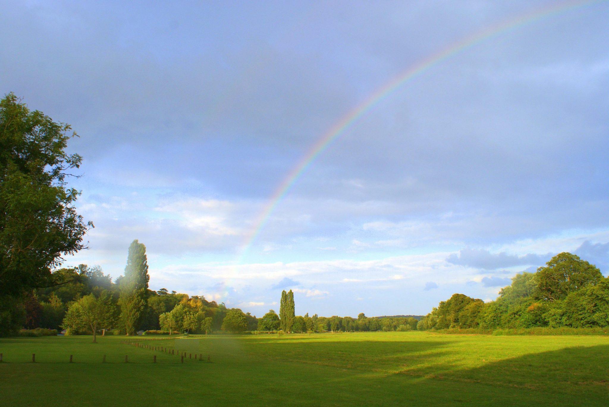 rainbow outside