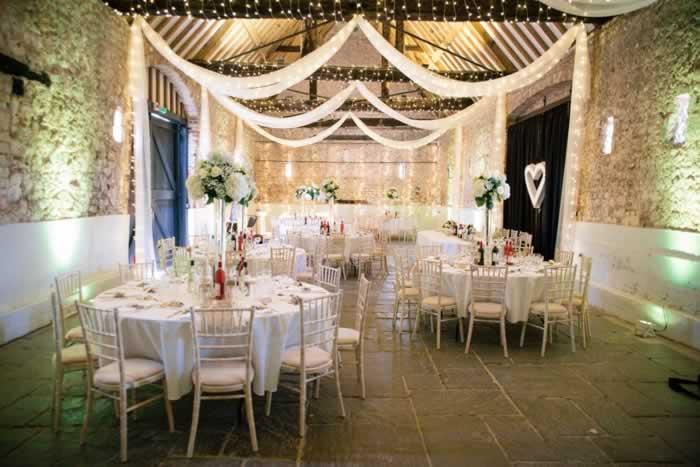 inside of wedding venue