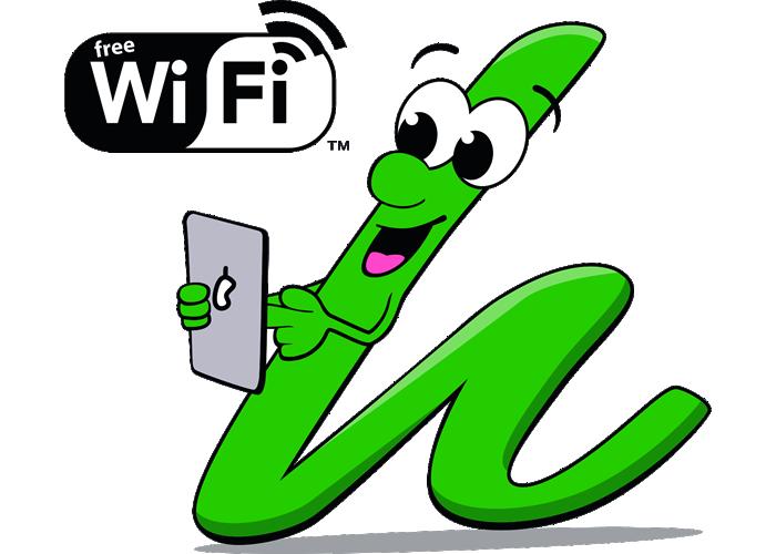 Logo with wifi